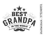 isolated grandparents day...   Shutterstock .eps vector #575248951