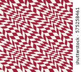 abstract geometric  red trippy... | Shutterstock .eps vector #575258461