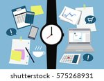 tools for good productivity and ... | Shutterstock .eps vector #575268931