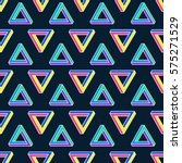 seamless vector pattern with... | Shutterstock .eps vector #575271529