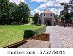 czech republic. prague. the... | Shutterstock . vector #575278015