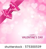 pink valentine's day background ... | Shutterstock .eps vector #575300539