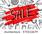 """promotional card """"sale"""" with... 