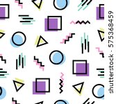 colorful seamless pattern... | Shutterstock .eps vector #575368459