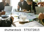 diversity people talk... | Shutterstock . vector #575372815