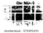grunge black and white urban... | Shutterstock .eps vector #575393191