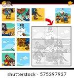 cartoon illustration of... | Shutterstock .eps vector #575397937