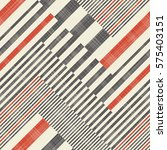 abstract striped geometric... | Shutterstock .eps vector #575403151