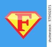 logo super hero | Shutterstock .eps vector #575432371