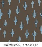 vector seamless background with ... | Shutterstock .eps vector #575451157