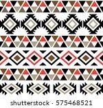 aztec tribal seamless pattern...   Shutterstock .eps vector #575468521
