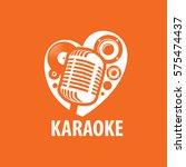 vector logo karaoke   Shutterstock .eps vector #575474437