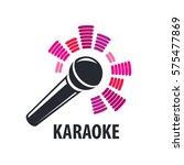 vector logo karaoke | Shutterstock .eps vector #575477869