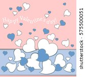 template greeting card for... | Shutterstock .eps vector #575500051