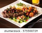 mid eastern mixed grill platter   Shutterstock . vector #575500729