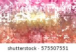 abstract vintage creative... | Shutterstock . vector #575507551