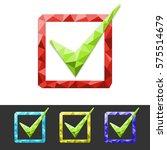 check mark | Shutterstock .eps vector #575514679