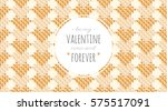 vector seamless pattern of... | Shutterstock .eps vector #575517091