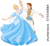 The royal ball dance of Cinderella and Prince