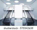 3d rendering of a advertisement ... | Shutterstock . vector #575542639