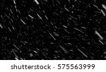 falling down real snowflakes ... | Shutterstock . vector #575563999