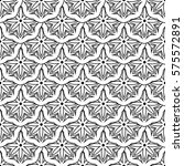 graphic patterns on a white... | Shutterstock .eps vector #575572891