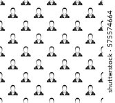 full male avatar pattern.... | Shutterstock . vector #575574664