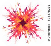 abstract watercolor texture.... | Shutterstock . vector #575578291