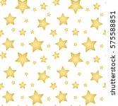 gold stars on a white...   Shutterstock . vector #575588851