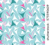 pastel seamless pattern with... | Shutterstock .eps vector #575590609