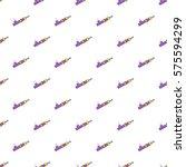 hashish pipe pattern. cartoon... | Shutterstock . vector #575594299