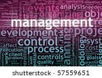 management concept in the... | Shutterstock . vector #57559651