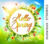 spring. | Shutterstock .eps vector #575608411