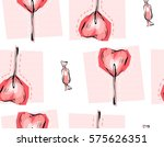hand drawn vector abstract... | Shutterstock .eps vector #575626351