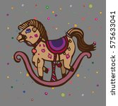 children style drawing of... | Shutterstock . vector #575633041