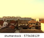 city in vintage style | Shutterstock . vector #575638129