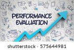 performance evaluation   modern ... | Shutterstock . vector #575644981