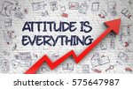 Attitude Is Everything Drawn On ...