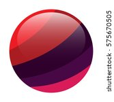 abstract sphere with colorful... | Shutterstock .eps vector #575670505