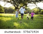 family generations parenting... | Shutterstock . vector #575671924