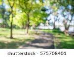 abstract blur city park bokeh... | Shutterstock . vector #575708401
