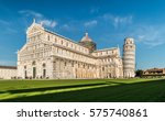 leaning tower of pisa | Shutterstock . vector #575740861