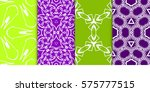 set of geometric seamless...   Shutterstock .eps vector #575777515