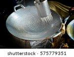 making a southen thai dish ... | Shutterstock . vector #575779351