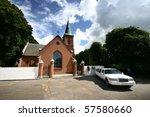 Church  In Denmark A Sunny...