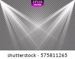 vector spotlight. light effect | Shutterstock .eps vector #575811265