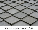 close view of roof  made with... | Shutterstock . vector #57581452