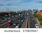Rush Hour On Melbourne's West...