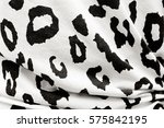 fabric with dot background | Shutterstock . vector #575842195