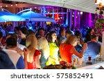 odessa  ukraine june 13  2015 ... | Shutterstock . vector #575852491